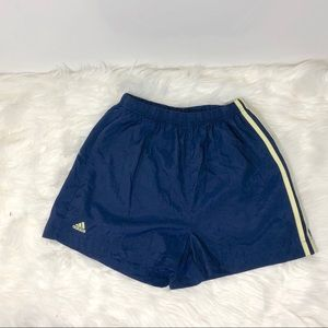 4/$25 Adidas Women's Blue Soccer Shorts Size Small